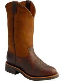 Chippewa Men's Pit Stop Men's Pull On Work Boots, , hi-res