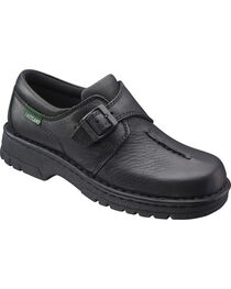 Eastland Women's Black Syracuse Slip-On Shoes , , hi-res