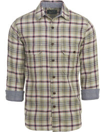 Woolrich Men's Weekend Eco Rich Double Weave Shirt , , hi-res