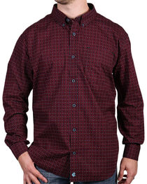 Cody James Core Men's Riata Print Long Sleeve Shirt, , hi-res