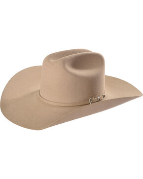 Resistol Men's Tan Circuit 6X Felt Hat , Tan, hi-res