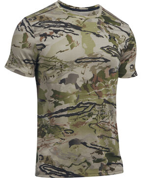 Under Armour Men's Ridge Reaper Early Season Short Sleeve Tee, Camouflage, hi-res