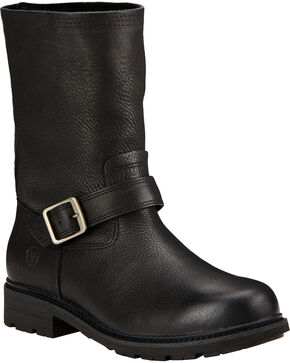 Ariat Men's Stonewall Roper Boots, Black, hi-res