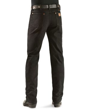 Wrangler Men's Slim Fit 936 Cowboy Cut Jeans, Shadow Black, hi-res