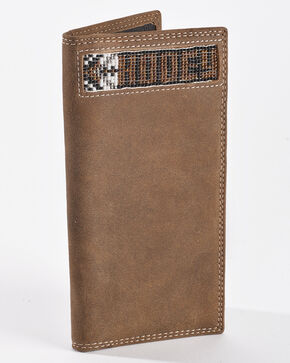 Hooey Men's Tan Signature Rodeo Wallet , Tan, hi-res