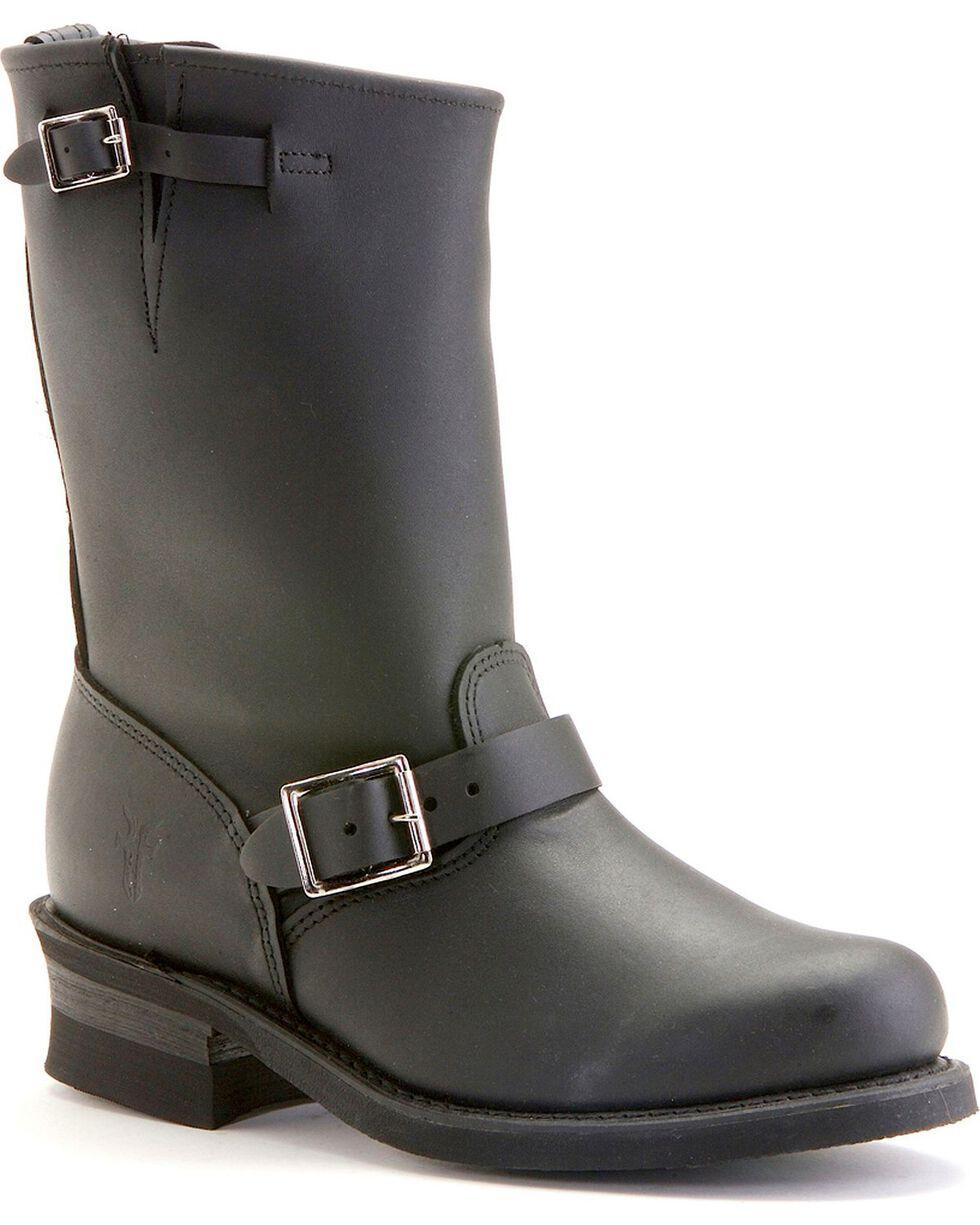 Frye Women's Engineer 12R Boots, Black, hi-res