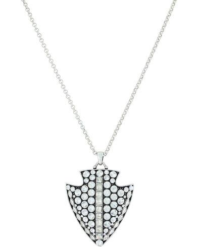 Montana silversmiths womens silver glam arrowhead necklace boot montana silversmiths womens silver glam arrowhead necklace silver hi res mozeypictures Gallery