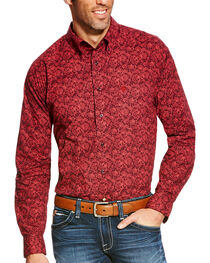 Ariat Men's Addison Classic Fit Long Sleeve Button Down Shirt - Big & Tall, , hi-res
