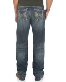 Rock 47 by Wrangler Men's Relaxed Fit Boot Cut Jeans, , hi-res
