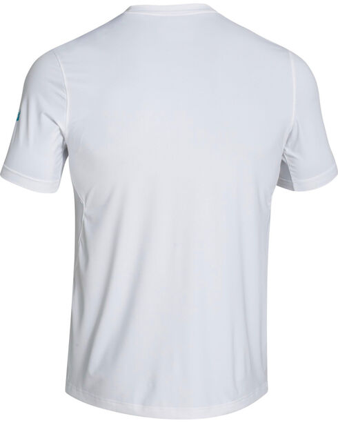 Under Armour Short Sleeve Vented Chill Element Shirt, White, hi-res