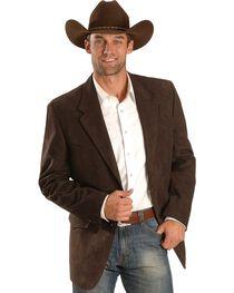 Domini Black Microsuede Western Jacket , , hi-res
