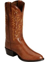Tony Lama Lizard Boots - Medium Toe, , hi-res