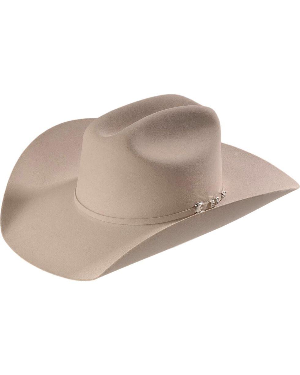 Stetson 6X Bar None Fur Felt Western Hat, Silverbelly, hi-res