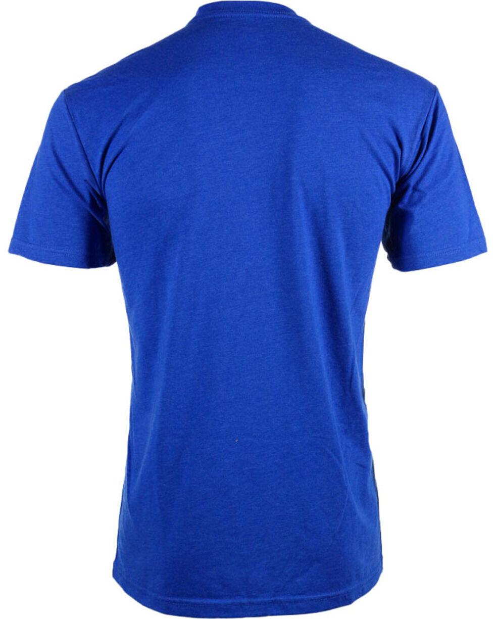 Cowboy Up Men's Comfort Zone T-Shirt, Blue, hi-res