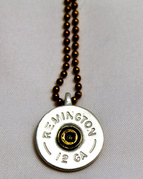 SouthLife Supply Oakley Shotshell Necklace in Antique Silver, Silver, hi-res