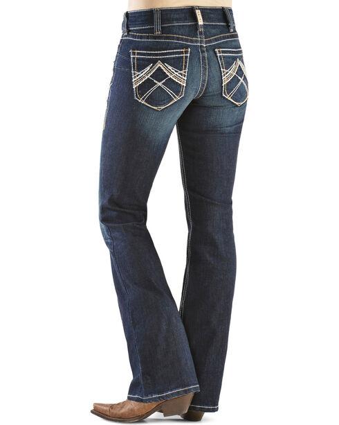 Ariat Women's Real Denim Boot Cut Riding Jeans, Denim, hi-res