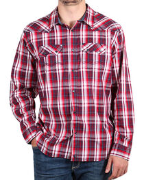 Cody James® Men's Americana Plaid Long Sleeve Shirt , , hi-res
