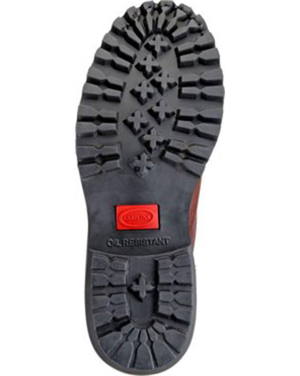 "Carolina Men's Logger 8"" Work Boots, Brown, hi-res"
