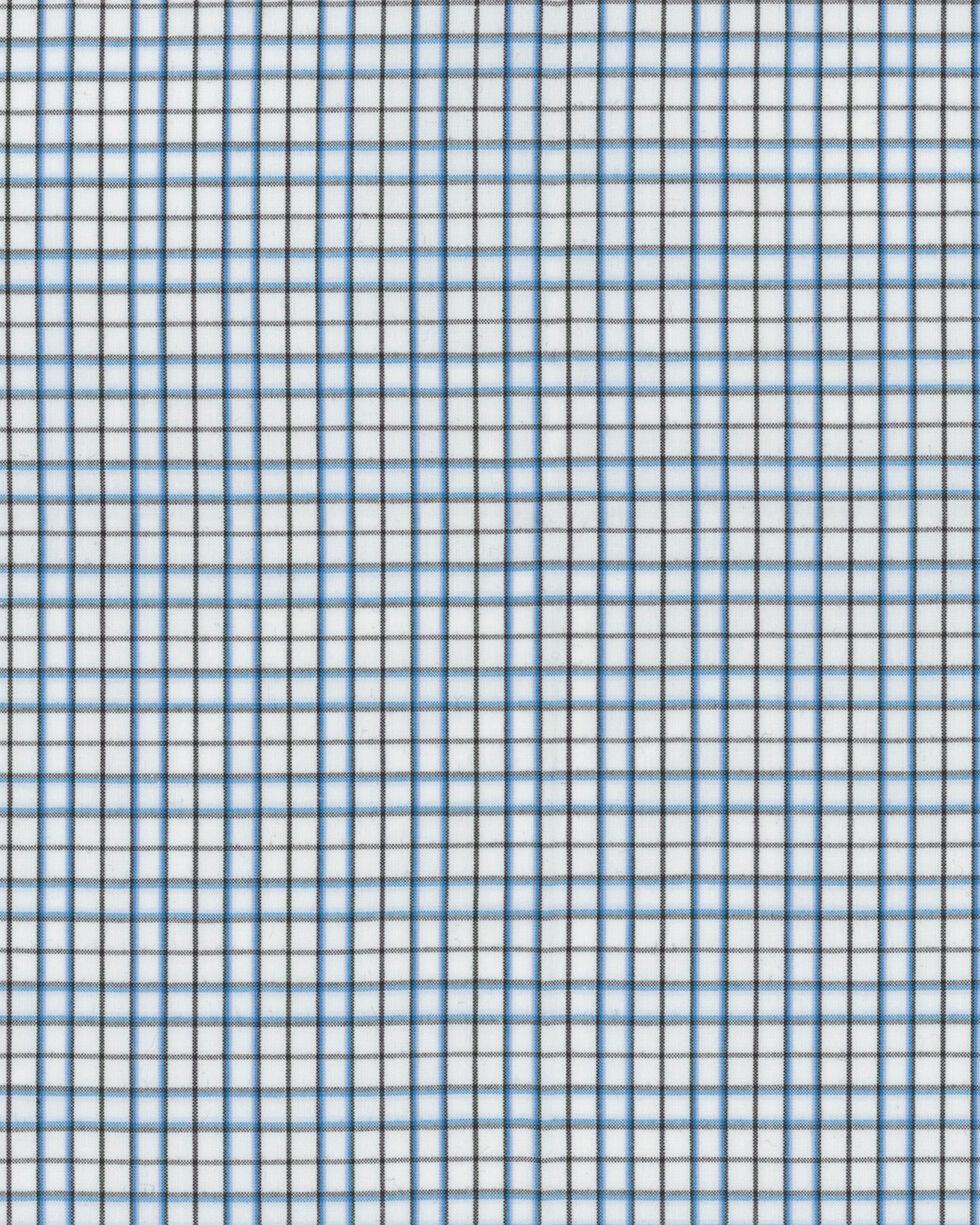 Wrangler George Strait Men's White Checkered Shirt, White, hi-res