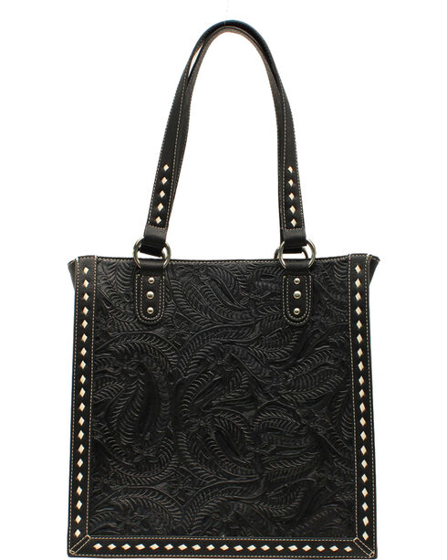 Blazin' Roxx Women's Tooled Tote Bag, , hi-res