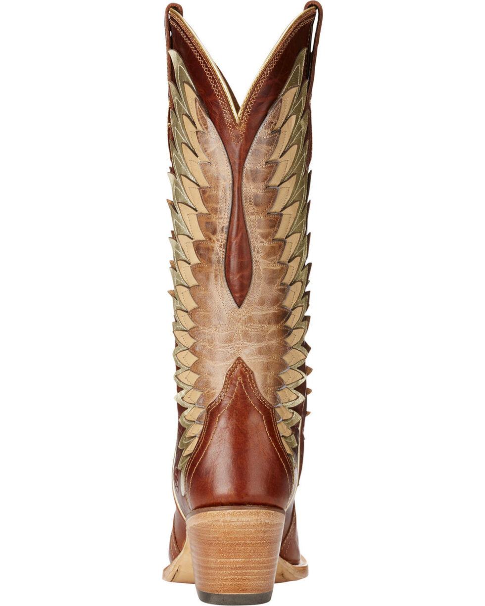 Ariat Women's Cognac Goldcrest Leather Boots - Snip Toe , , hi-res