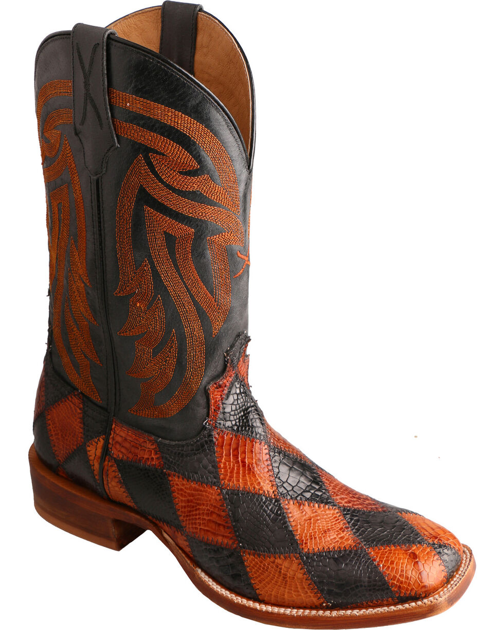 Twisted X Men's Rancher Western Boots, Multi, hi-res