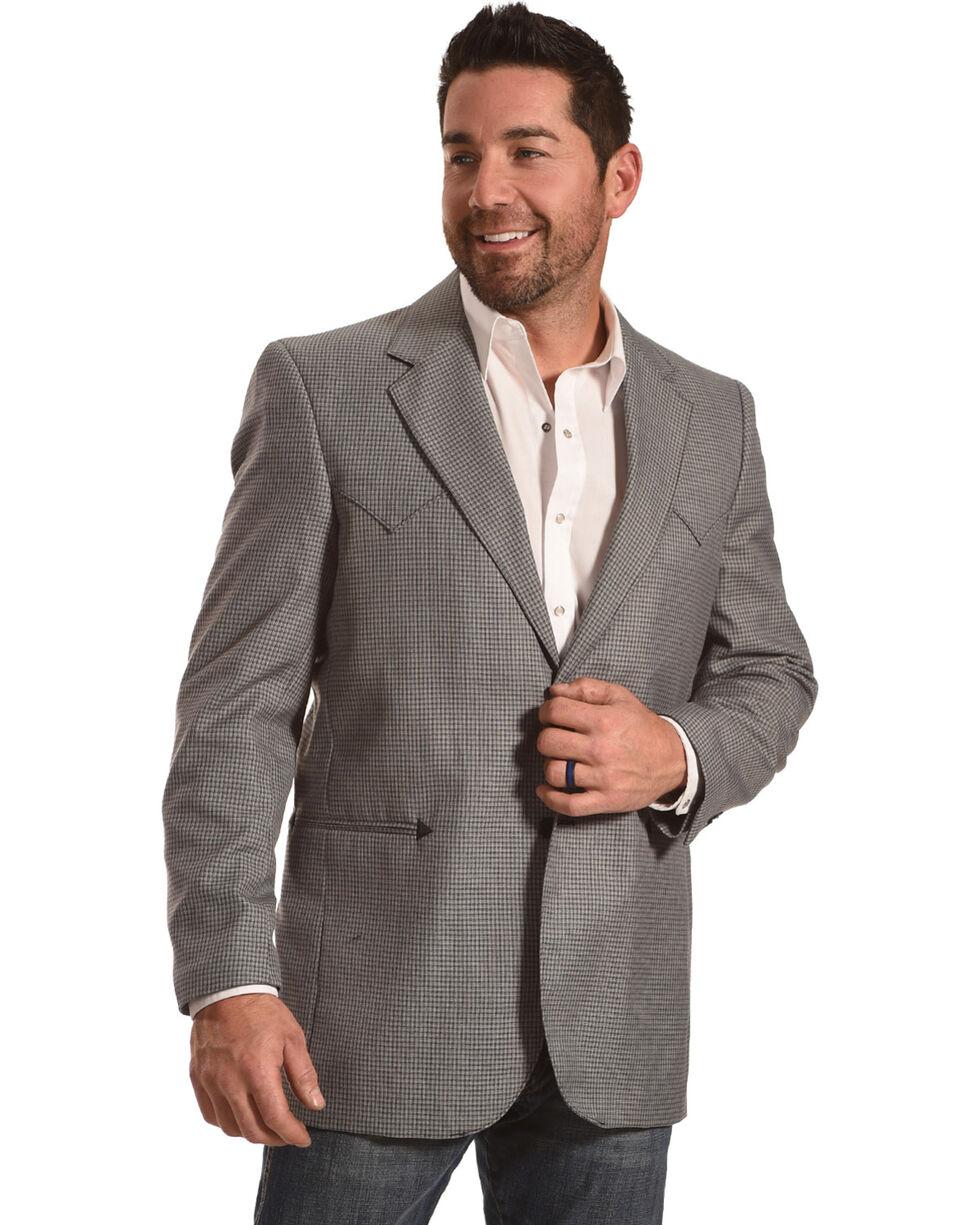 Circle S Men's Carson City Graphite Sport Coat - Big & Tall, Grey, hi-res
