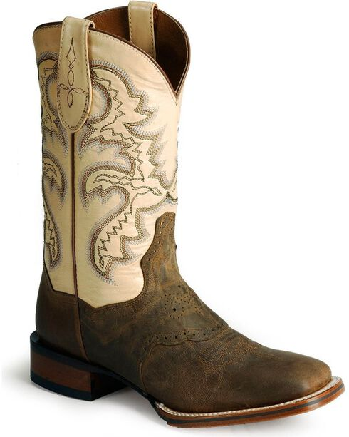 Dan Post Women's San Michelle Cowgirl Certified Western Boots, Tan, hi-res