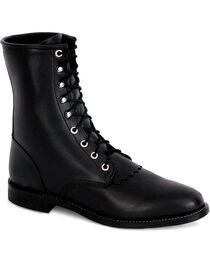 Justin Women's Lace Roper Boots, , hi-res