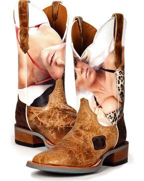 Cinch Men's Wildcat Western Boots, Brown, hi-res