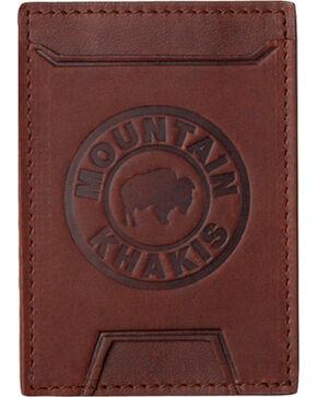 Mountain Khakis Brown Leather MK Wallet , Brown, hi-res