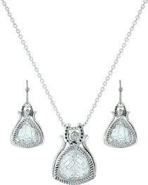 Montana Silversmiths Women's Hidden Treasure Horseshoe Jewelry Set, , hi-res