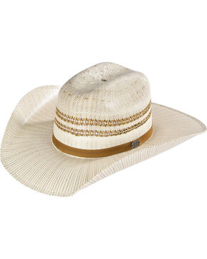 Justin Youth's Ivory Barrel Jr Straw Hat , Ivory, hi-res