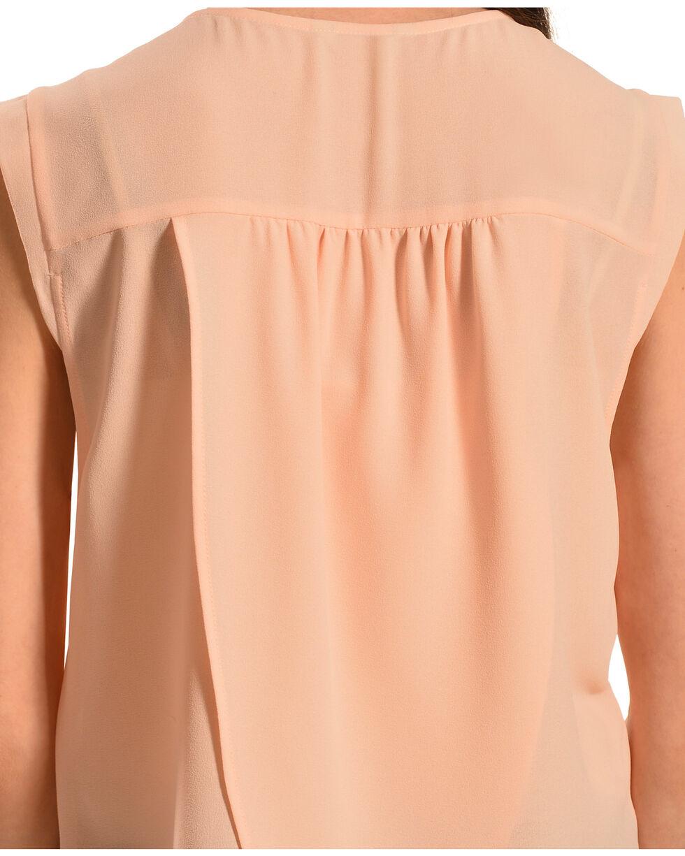 Ariat Women's Abbott Sleeveless Top, Peach, hi-res