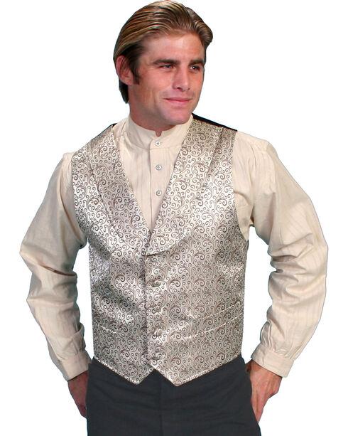 Rangewear by Scully Kirksey Scroll Vest - Big & Tall, Brown, hi-res