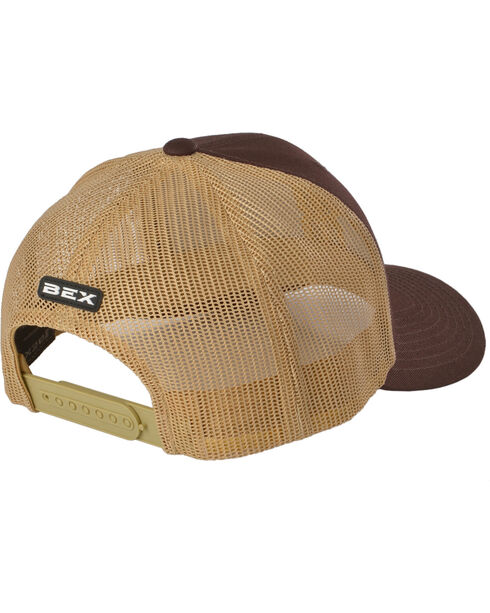 Bex Men's Icon Logo Snap-Back Ball Cap, Brown, hi-res