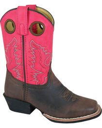 Smoky Mountain Youth Girls' Memphis Western Boots - Square Toe, , hi-res