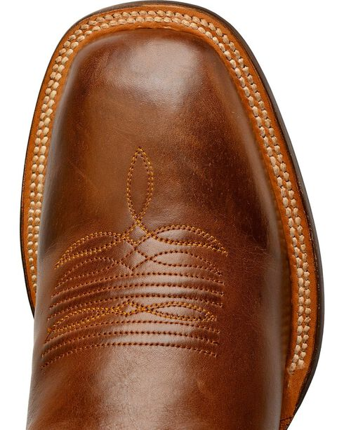 Lucchese Men's Rhett Broad Square Toe Western Boots, Tan, hi-res
