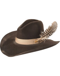 Stetson Men's Dark Brown Elk Run 4X Wool Hat , , hi-res