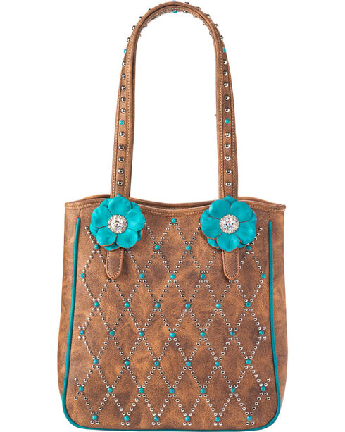 Blazin Roxx Women's Willow Tote , Brown, hi-res