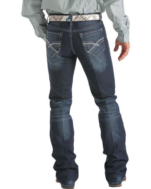Cinch Men's Ian Slim Fit Boot Cut Jeans, Dark Stone, hi-res