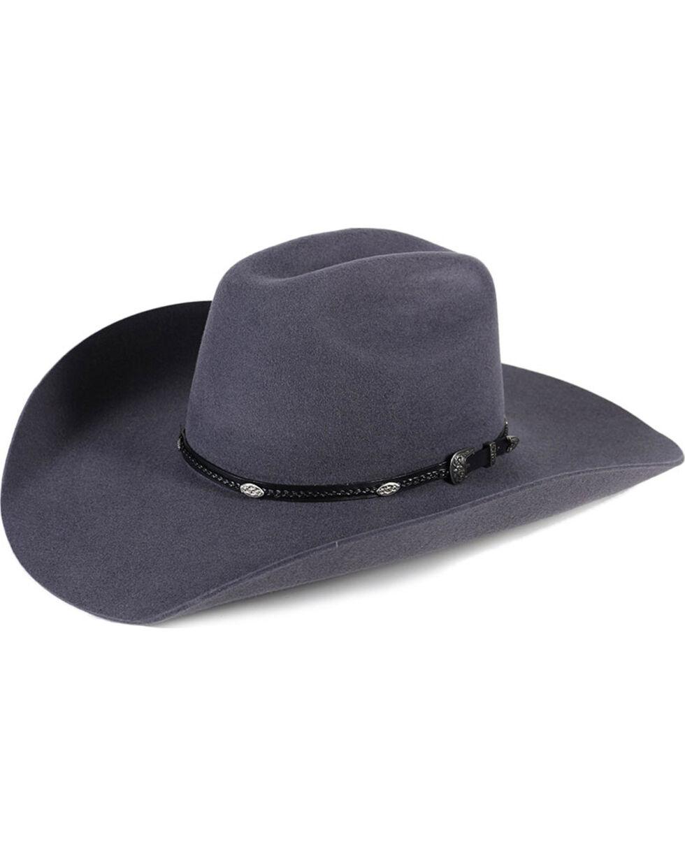 Cody James® Men's 3X Longview Wool Hat, Grey, hi-res