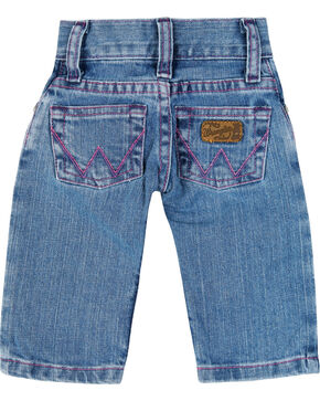 Wrangler Children's Pink Stitched Jeans, Blue, hi-res