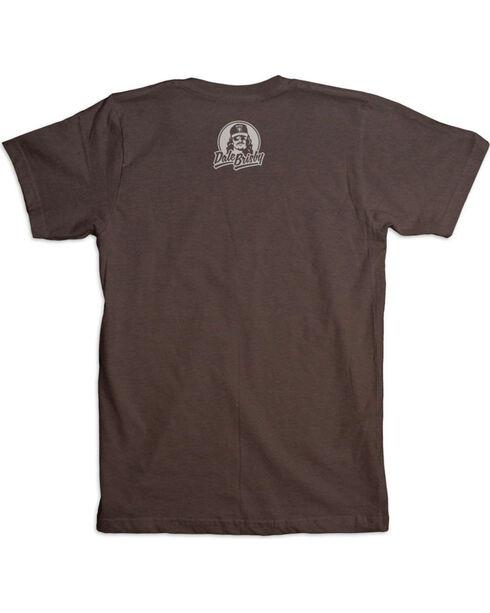 Dale Brisby Men's Chute Yeah T-Shirt , Brown, hi-res