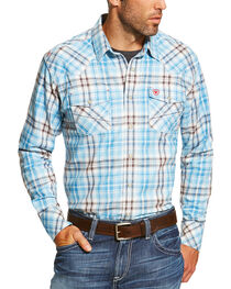 Ariat Men's FR Maddox Retro Long Sleeve Shirt, , hi-res