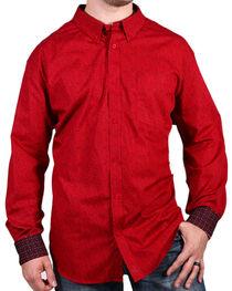 Cody James Core Men's Barrel Man Print Long Sleeve Shirt, , hi-res