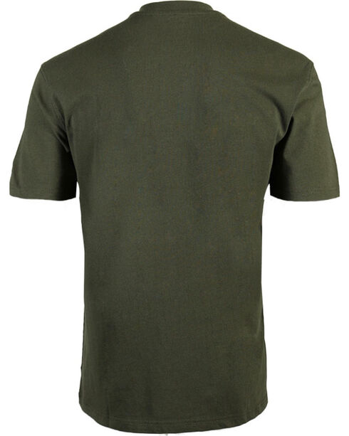 American Worker Men's Solid Short Sleeve T-Shirt - Big & Tall, Moss Green, hi-res