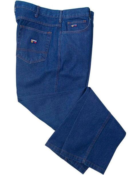 Lapco Men's Flame Resistant Relaxed Fit Jeans, Blue, hi-res
