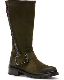 Frye Women's Forest Samantha Zip Tall Boots - Round Toe , , hi-res