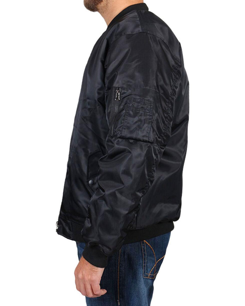 American Worker® Men's Zippered Jacket, Navy, hi-res